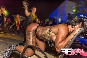 Girl flogged