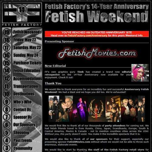 14 Year Anniversary Fetish Party