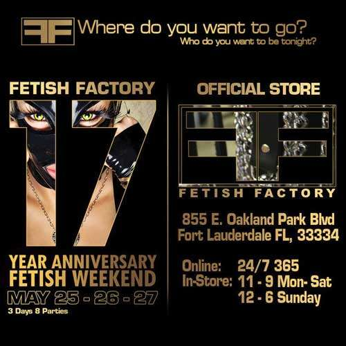 17 Year Anniversary Fetish Party