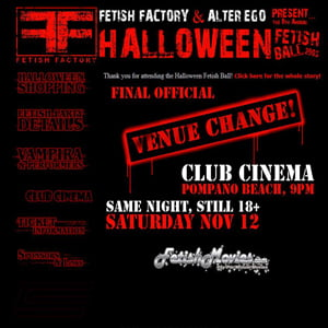 Fetish Factory's 2005 Halloween Ball