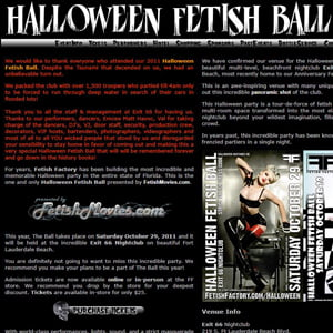 Fetish Factory's 2011 Halloween Ball