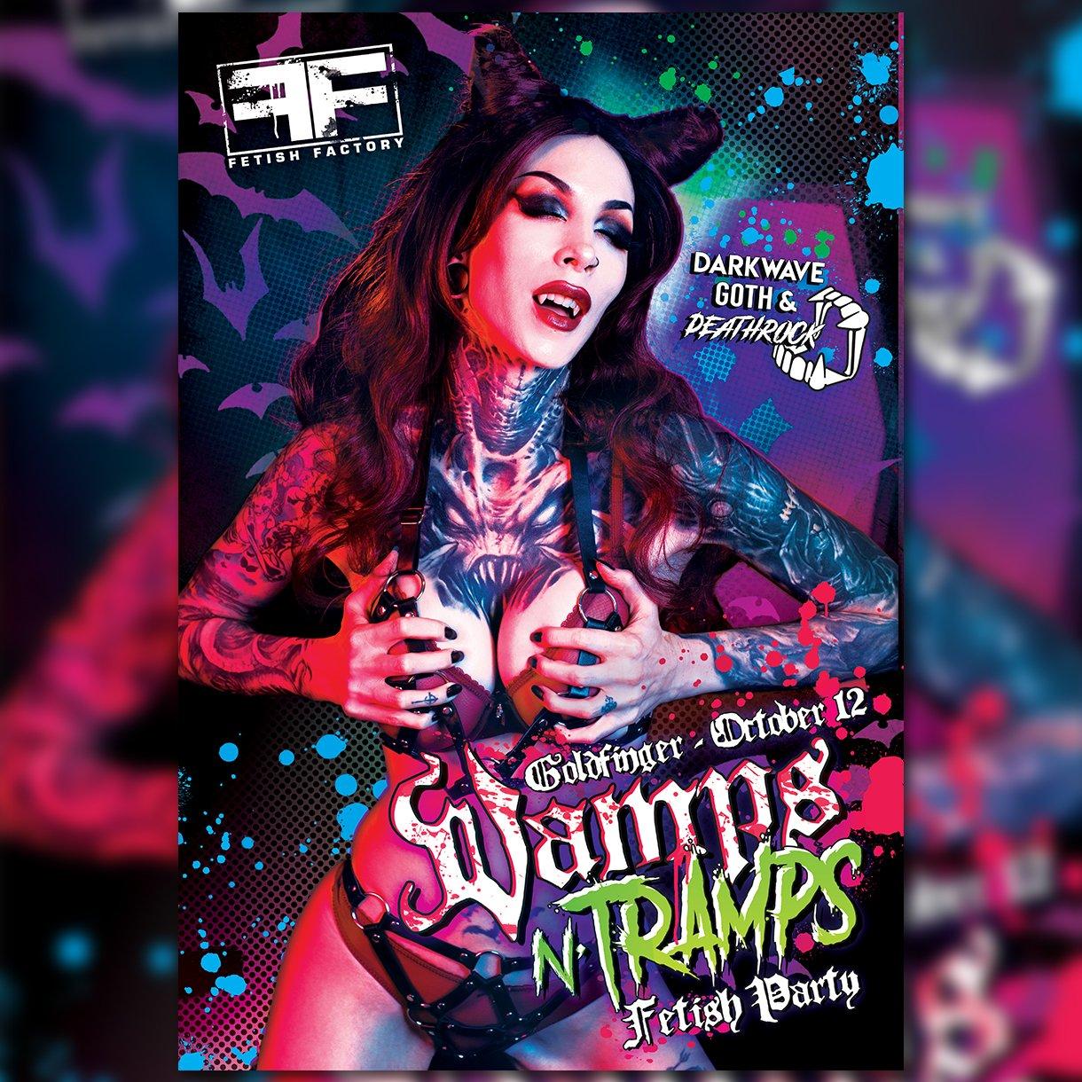 Vamps N Tramps Fetish Party - October 12, 2019