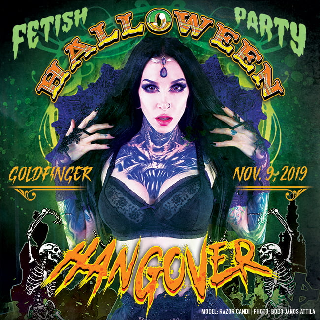 Halloween Hangover Fetish Party - November 9, 2019