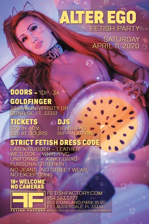Alter Ego Fetish Party 2020