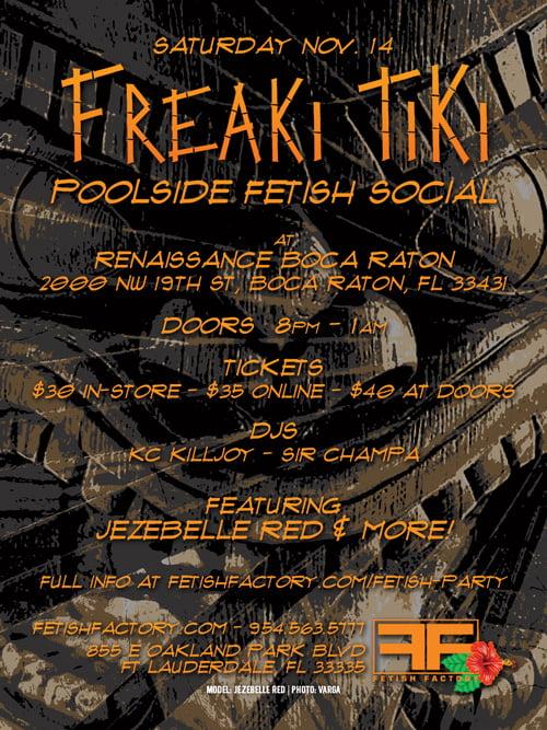 Freaki Tiki Fetish Social