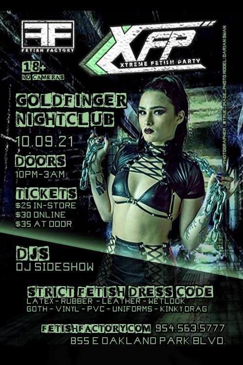 Xtreme Fetish Party - October 2021
